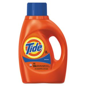 Tide 13878 Liquid 2X Laundry Detergent, Original, 6 Bottles (PGC13878CT)