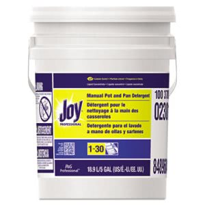 Joy Liquid Dishwashing Detergent, Lemon Scent, 5 Gallon Pail (PGC 02301)
