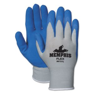 Seamless Nylon Knit Glove, Latex Dipped, Medium, 12 Pairs (MCR 96731M)