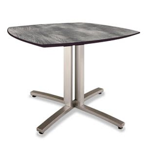 Nomad Story Squircle Table, 36 x 36 x 29, Pewter (PHLSR2936PW)