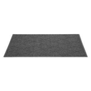EcoGuard Diamond Floor Mat, Rectangular, 36 x 120, Charcoal (MLLEGDFB031004)