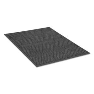 EcoGuard Diamond Floor Mat, Rectangular, 48 x 72, Charcoal (MLLEGDFB040604)
