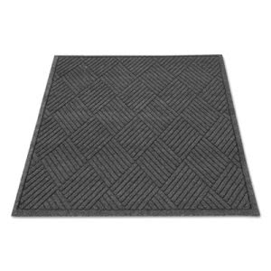 EcoGuard Diamond Floor Mat, Rectangular, 36 x 48, Charcoal (MLLEGDFB030404)