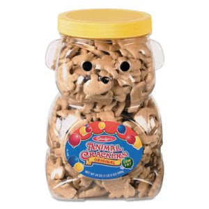 Stauffer's Animal Crackers, 24 oz Jar (SFF011037)