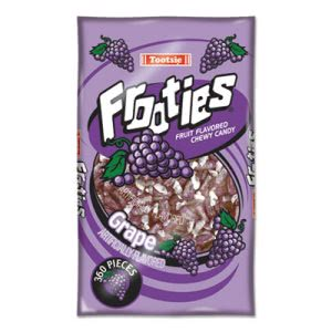 Tootsie Roll Frooties, Grape, 38.8oz Bag, 360 Pieces/Bag (TOO7801)