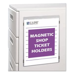 C-line Magnetic Shop Ticket Holder, 9 x 12, 15/BX (CLI83912)