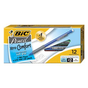 Bic Mechanical Pencil, HB #2, 0.5 mm, Assorted Colors, Dozen (BICMPFG11)