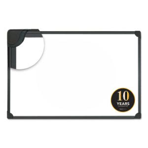 Universal Magnetic Dry Erase Board, 48 x 36, Aluminum/Plastic Frame (UNV43734)