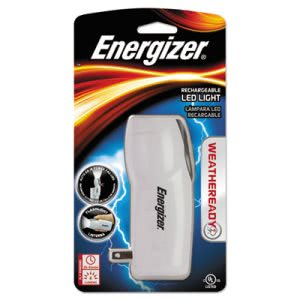 Energizer Rechargeable LED Flashlight, Silver/Gray (EVERCL1NM2WR)