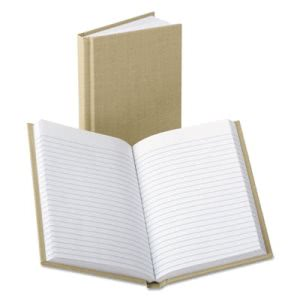 Handy Size Bound Memo Book, Ruled, 4-3/8 x 7, White, 96 Sheets/Pad (BOR6559)