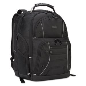 "Targus Drifter Plus with TSA Backpack, For 16"" Laptop, Black (TRGTSB846)"