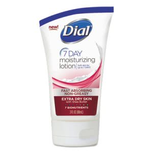 Dial 7-Day Moisturizing Lotion, 3 oz, Tube (DIA99717)