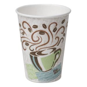 Dixie PerfecTouch 12-oz. Insulated Paper Hot Cups, 1,000 Cups (DIX 5342CD)