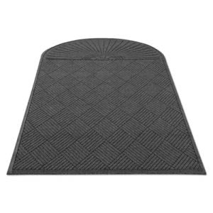 Guardian EcoGuard Single Fan Diamond Floor Mat, 48x96, Charcoal (MLLEGDSF040804)