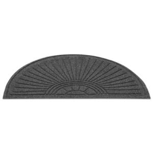 Guardian EcoGuard Diamond Floor Mat, Fan Only, 24x36, Charcoal (MLLEGDFAN020304)