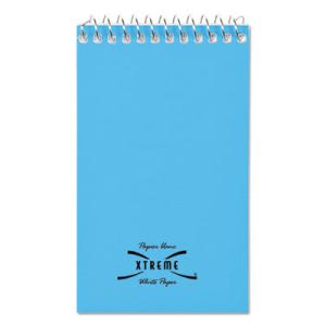 Wirebound Narrow Rule Memo Book, 3 x 5, White, 60 Sheets (RED31120)
