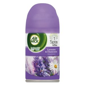 Air Wick 77961 Freshmatic Refill, Lavender/Chamomile, 6 Cans (RAC77961CT)