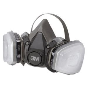 3m Half Facepiece Paint Spray/Pesticide Respirator, Small (MMM6111PA1A)