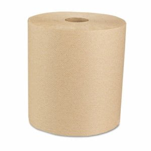 Boardwalk 800 ft. Brown Hard Roll Towels, 6 Rolls (BWK 16GREEN)