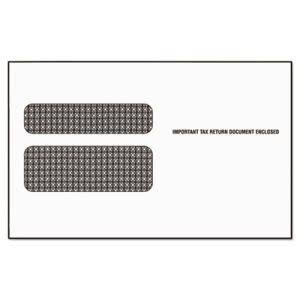 Tops Double Window Envelope for W-2 Laser Forms, 50 Envelopes (TOP2219LR)