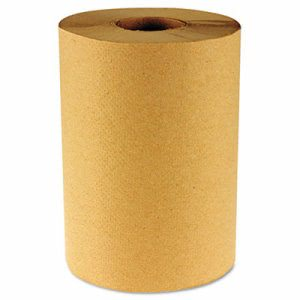 Boardwalk 800 ft Brown Hard Roll Towels, 6 Rolls (BWK 6256)