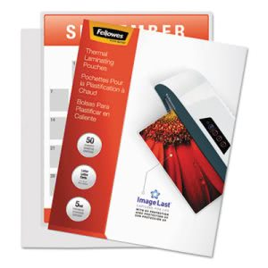 Fellowes Laminating Pouches, 5 mil, 11 1/2 x 9, 100/Pack (FEL52040)
