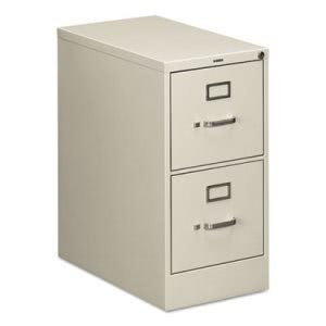Hon 510 Series Two-Drawer Full-Suspension File, Letter, 29h x25d, Light Gray (HON512PQ)
