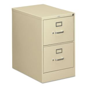 Hon 310 Series 2-Drawer, Full-Suspension File, Legal, 26-1/2d, Putty (HON312CPL)