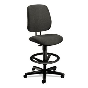 Hon 7700 Series Swivel Task stool, Gray (HON7705AB12T)