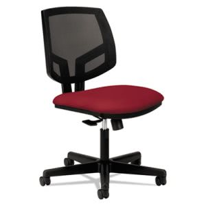Hon Volt Series Mesh Back Task Chair, Crimson Fabric (HON5711GA42T)