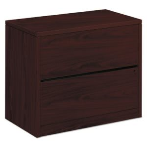 Hon 10500 Series Two-Drawer Lateral File, Mahogany (HON10563NN)