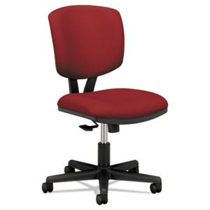 Hon Volt Series Task Chair with Synchro-Tilt, Crimson Fabric (HON5703GA42T)