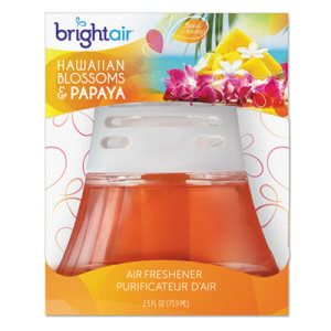 Bright Scented Oil Air Freshener, Hawaiian Blossoms & Papaya, 2.5 oz (BRI900021)