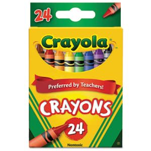 Crayola Classic Color Pack Crayons, 24 Colors/Box (CYO523024)