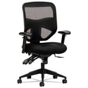 Basyx VL532 Series Mesh High-Back Task Chair, Black (BSXVL532MM10)