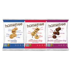 Gluten Free Mini Cookies Variety Pack, 30 Packs (HMF01305)