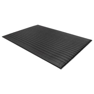 "Guardian Air Step Antifatigue Mat, Polypropylene, 24""x36"", Black (MLL24020302)"