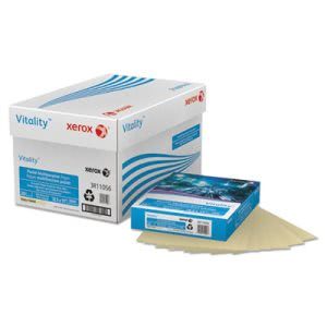 Xerox Multipurpose Pastel Colored Paper, 20-lb, Letter, Ivory, 500 Sheets/Ream (XER3R11056)