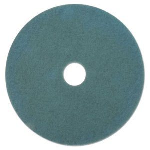 "3M Aqua 27-1/4"" Burnishing Floor Pad 3100, 5 Pads (MMM20379)"