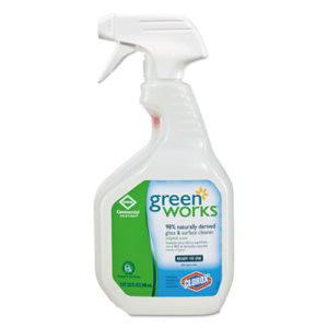 Green Works Glass/Surface Cleaner, 32 oz Spray Bottle, 12/Carton (CLO00459CT)