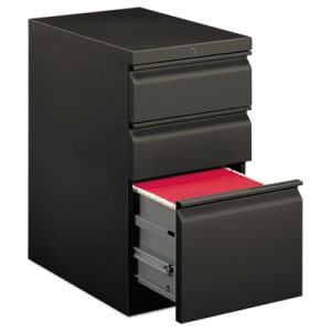 Hon Efficiencies Mobile Pedestal File w/One File/Two Box Drawers, 22-7/8d, CCY (HON33723RS)