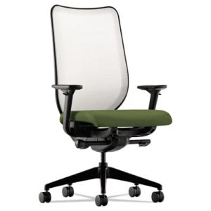 Hon Nucleus Series Work Chair, Fog ilira-stretch M4 Back (HONN102NR74)