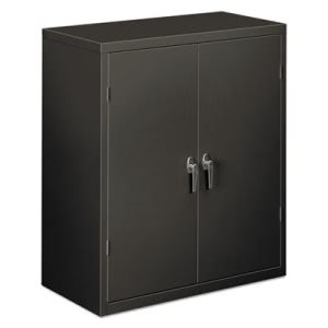 Hon Assembled 2-Shelf Storage Cabinet, 36 x 18 x 41.75, Charcoal (HONSC1842S)