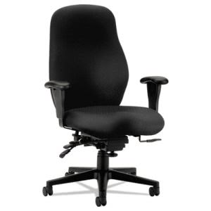 Hon 7800 Series High-Performance High-Back Executive/Task Chair, Tectonic Black (HON7808NT10T)