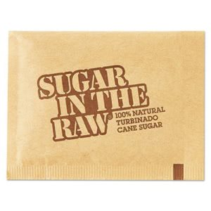 Sugar-In-The-Raw Sugar Packets, 0.18-oz, 500 Packets (SGR827749)