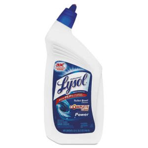 Lysol 74278 Deep Cleaning Toilet Bowl Cleaner, 12 Bottles (REC 74278)