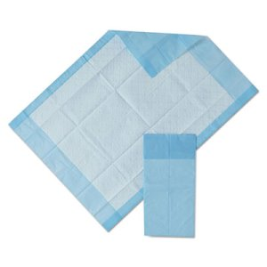 Medline Protection Plus Disposable Underpads, 17 x 24, 25 Pads (MIIMSC281224C)