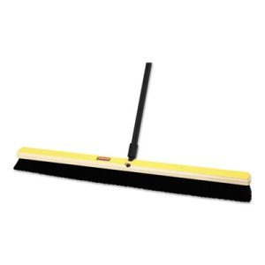 "Rubbermaid Medium Floor Sweep, 24"" Brush, 3"" Bristles, Black (RCP9B13BLAEA)"