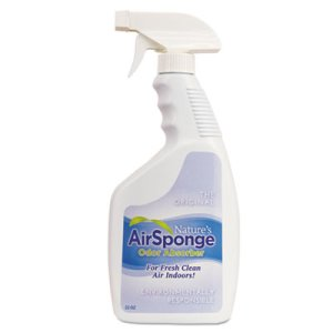 Nature's Air Sponge Odor Absorber, Unscented, 22 oz Spray Bottle (DEL10132EA)