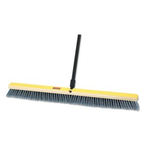 "Rubbermaid 9B14 Medium Floor Sweeper Head, 36"", 2 Broom Heads (RCP9B14GRACT)"